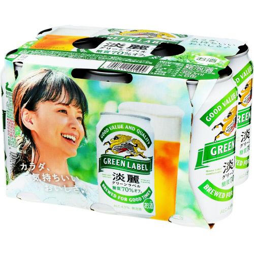 淡麗グリーンラベル6缶P